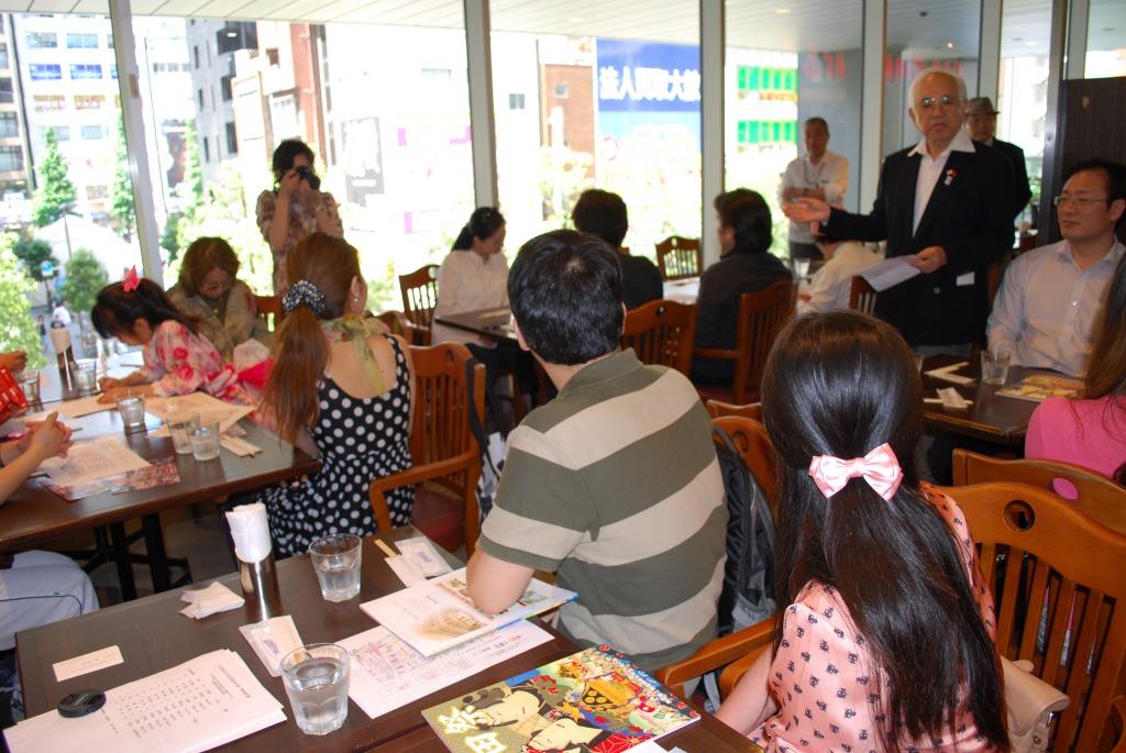 中国留学生とともに 江戸の華 「神田祭」を観る -千代田区日中-