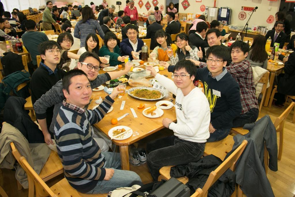 2/11 北区日中 春節餃子パーティー 活動リポート