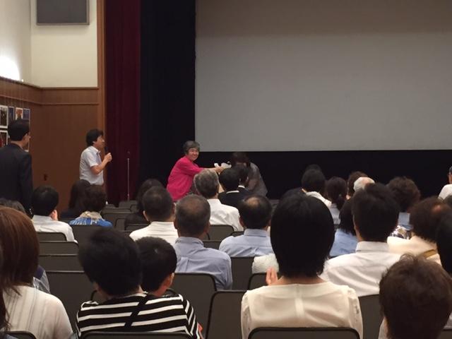 7/24 中国大使館での中国映画を鑑賞する会 活動リポート