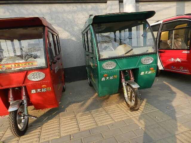写真で見た中国・庶民の乗り物!小さいことはいいことだ!大きさよりも小回りが・・・
