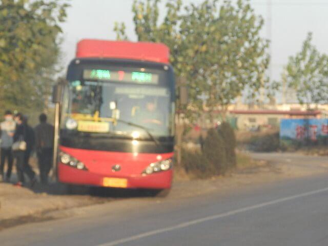中国~写真で見る「路線バスで行くエコツーリズムの農村」河北省荆台县・前南峪地区