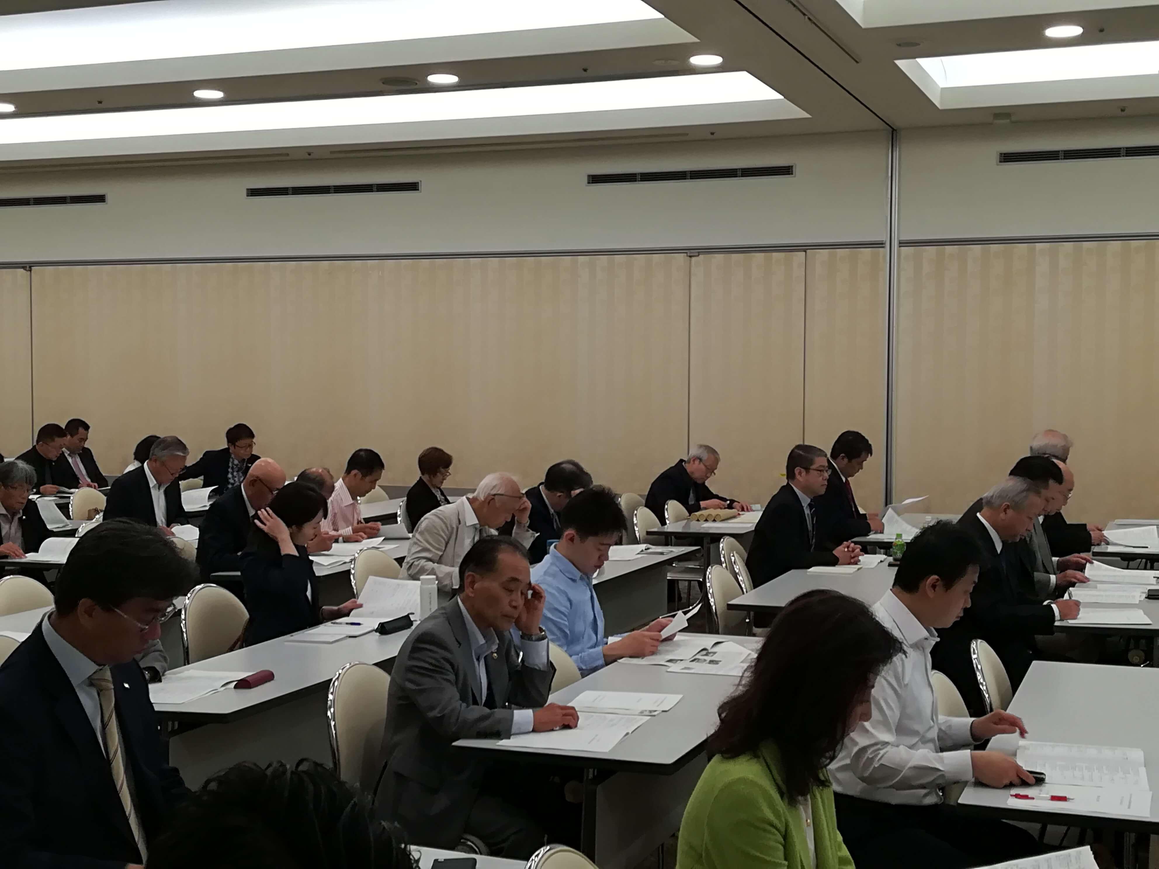 写真で見る「東京都日中」年次総会開催光景~新たな1年課題乗越え未来に向けてスタート