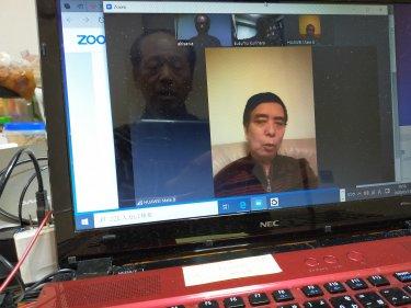 今後の会議は、国境を越えてWeb映像での会議を毎月開催します!(都日中経済ビジネスクラブ)