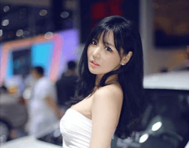 世界有数モーターショー上海モーターで見た中国美女コンパニオン
